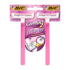 Barbeador Bic Comfort Twin - For Women