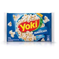 Popcorn para Micro-Ondas Yoki Sabor Manteiga