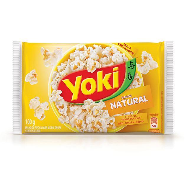 Popcorn para Micro-Ondas Yoki Natural