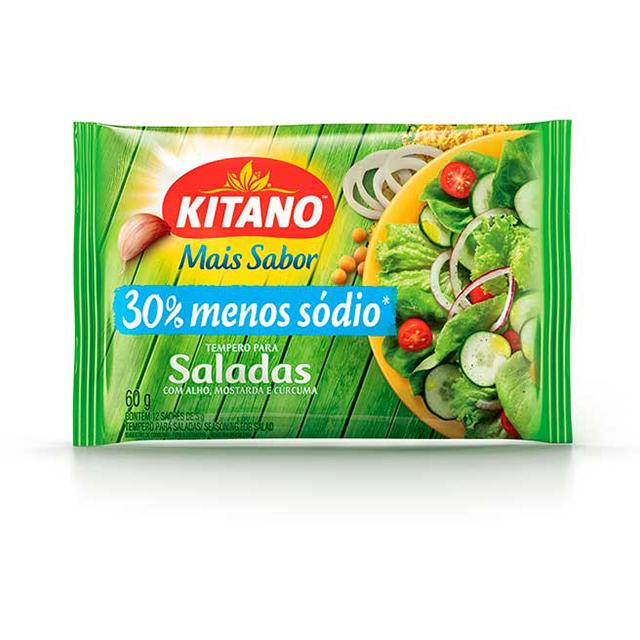 Mais Sabor em Pó Kitano Tempero para Saladas 60 gramas