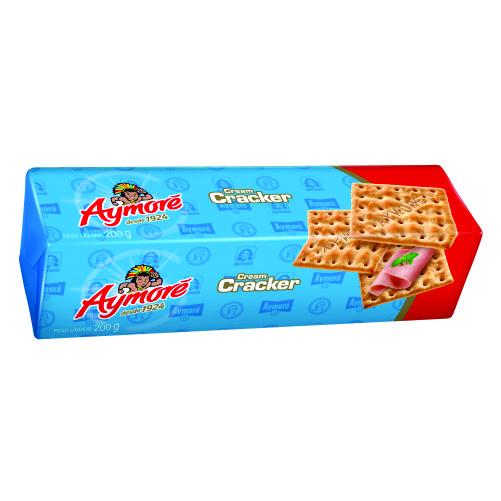 Biscoito Aymoré Cream Cracker