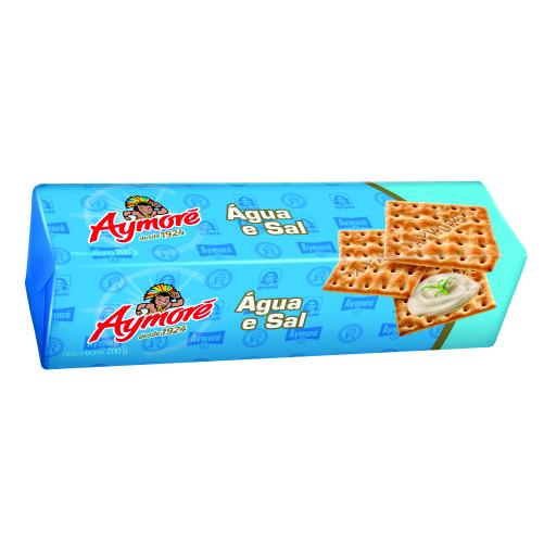 Biscoito Aymoré Água e Sal