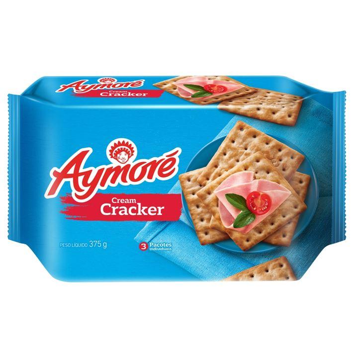 Biscoito Aymoré Cream Cracker Multipack