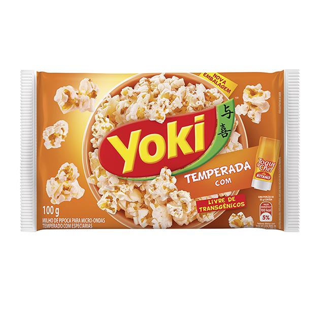 Popcorn  para Micro-Ondas Yoki Toque de Chef