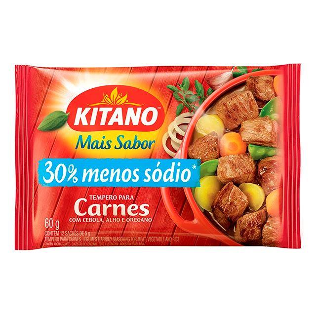 Mais Sabor em Pó Kitano Tempero para Carne 60 gramas