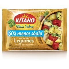Mais Sabor em Pó Kitano Tempero para Legumes 60 gramas