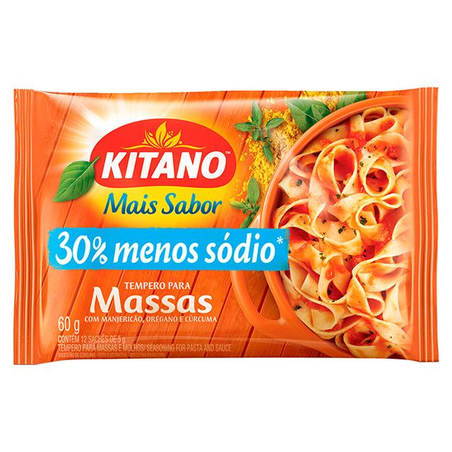 Mais Sabor em Pó Kitano Tempero para Massa 60 gramas