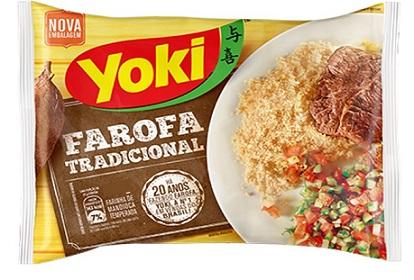 Farora Yoki de Mandioca Temperada