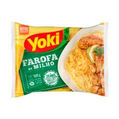 Farofa Yoki de Milho