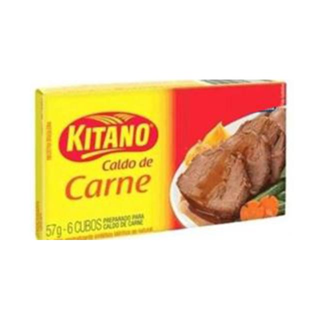 Caldo em Cubo Kitano de Carne com 6 Cubos cada