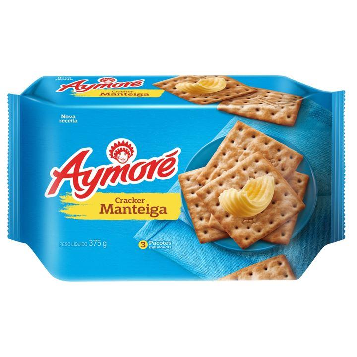 Biscoito Aymoré Cream Cracker Manteiga Multipack