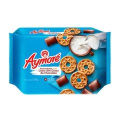 Biscoito Aymoré Amanteigado Leite com Gotas de Chocolate