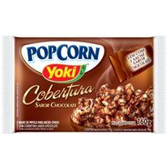Popcorn para Micro-Ondas Yoki Cobertura Sabor Chocolate