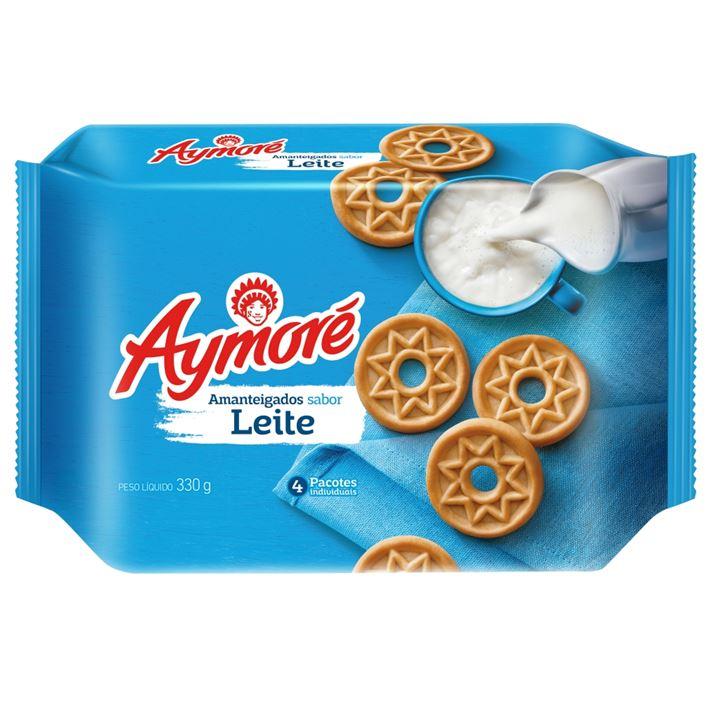 Biscoito Aymoré Amanteigado Leite