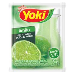 Refresco em Pó Yoki Sabor Limão 30 gramas