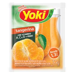Refresco em Pó Yoki Sabor Tangerina 30 gramas