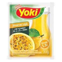 Refresco em Pó Yoki Sabor Maracuja 30 gramas