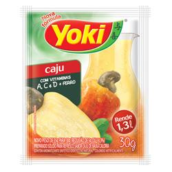 Refresco em Pó Yoki Sabor Caju 30 gramas