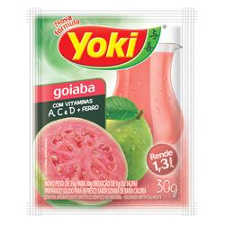 Refresco em Pó Yoki Sabor Goiaba 30 gramas