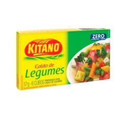 Caldo em Cubo Kitano de Legumes com 6 Cubos cada