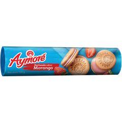 Biscoito Aymoré Recheado Morango