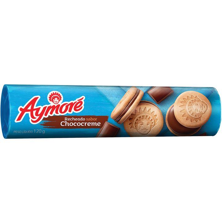 Biscoito Aymoré Recheado Choco Creme