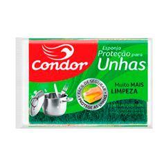 Esponja Condor Proteção para Unhas Pacote com 12 unidades.REF 1537