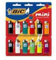 Isqueiro Bic Mini J5