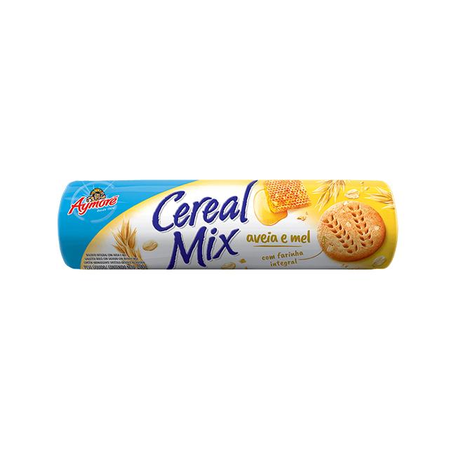 Biscoito Aymoré Integral Cereal Mix Aveia e Mel