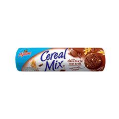 Biscoito Aymoré Integral Cereal Mix Chocolate e Avelã