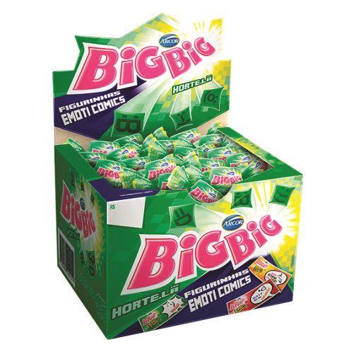Chicle Arcor Big Big Hortelã 350g