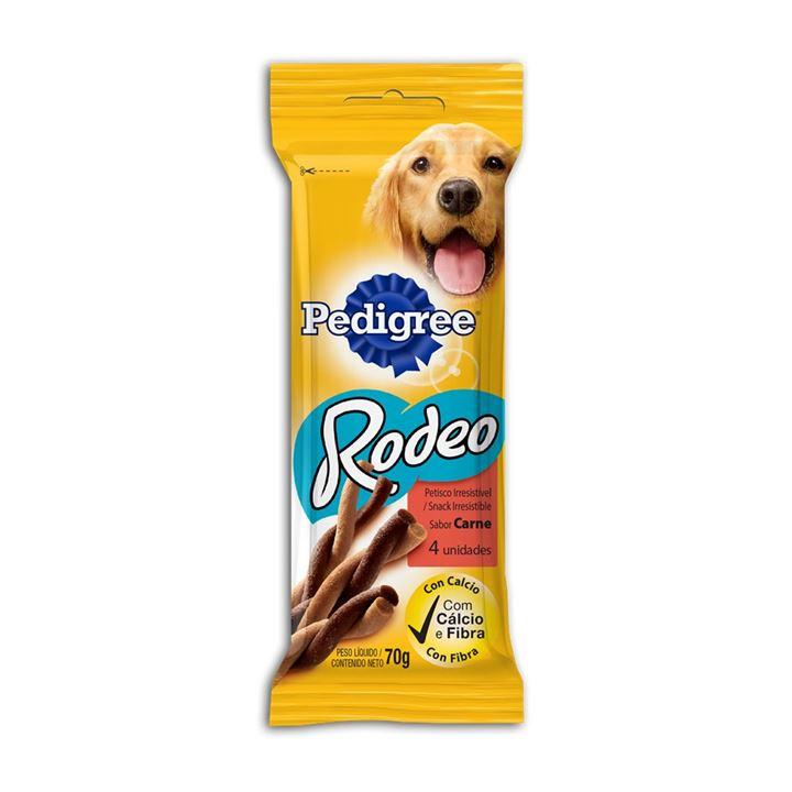 Petisco Pedigree Rodeo Carne 4Sticks