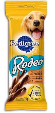 Petisco Pedigree Rodeo Frango 4Sticks