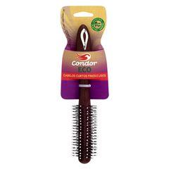 Escova Condor Eco para Escovar e Modelar Cabelos Curtos Finos e Lisos.REF 6852