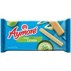 Biscoito Aymoré Wafer Limão