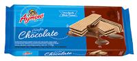 Biscoito Aymoré Wafer Chocolate