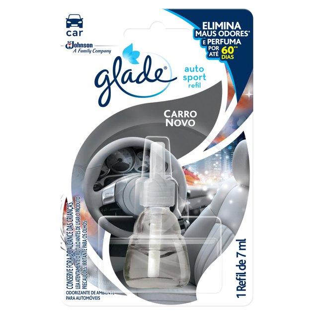 Automotivo Glade Auto Sport Carro Novo Refil