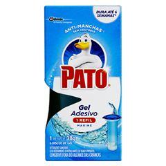 Desodorizador Sanitário Pato Gel Adesivo Marine Refil 6 Discos