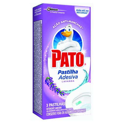 Detergente Sanitário Pato Pastilha Adesiva Lavanda