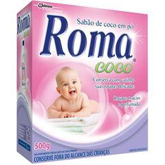 Sabão em Pó Roma Coco