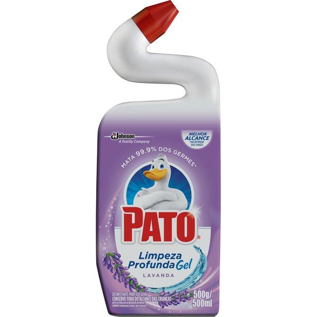 Limpador Sanitário Pato Gel Lavanda