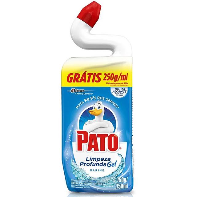 Limpador Sanitário Pato Gel Marine Grátis 250ml
