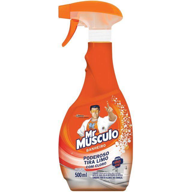 Limpador de Banheiro Mr Músculo Tira Limo Aparelho