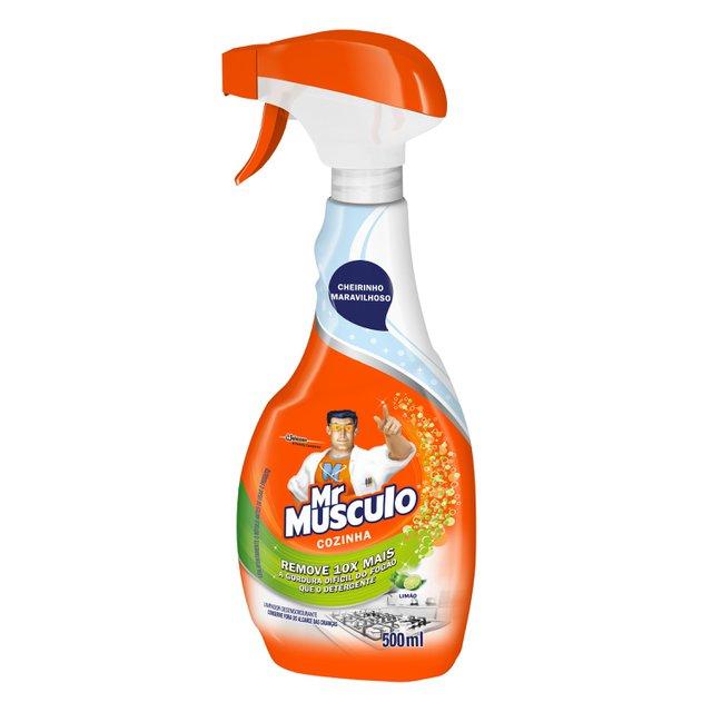 Limpador para Cozinha Mr Musculo Limão Aparelho