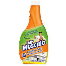Limpador para Cozinha Mr Musculo Limão Refil