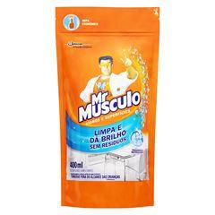 Limpador para Vidros e Superfícies Mr Musculo Pouche Refil