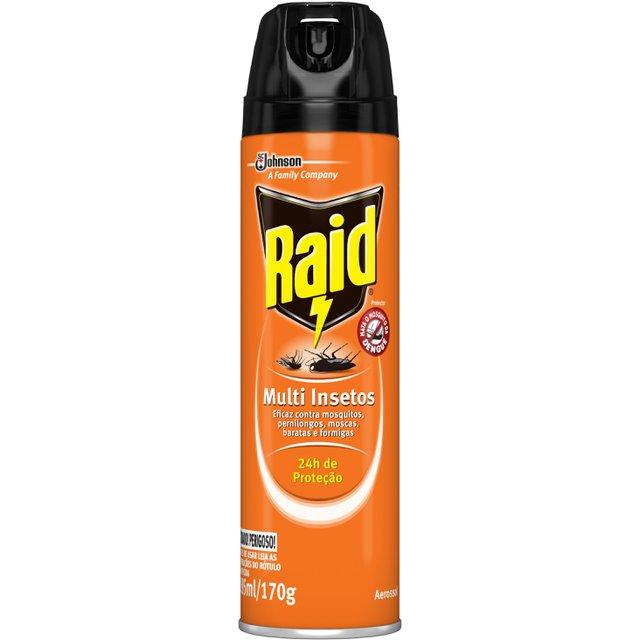 Inseticida Raid Aerossol Multi insetos