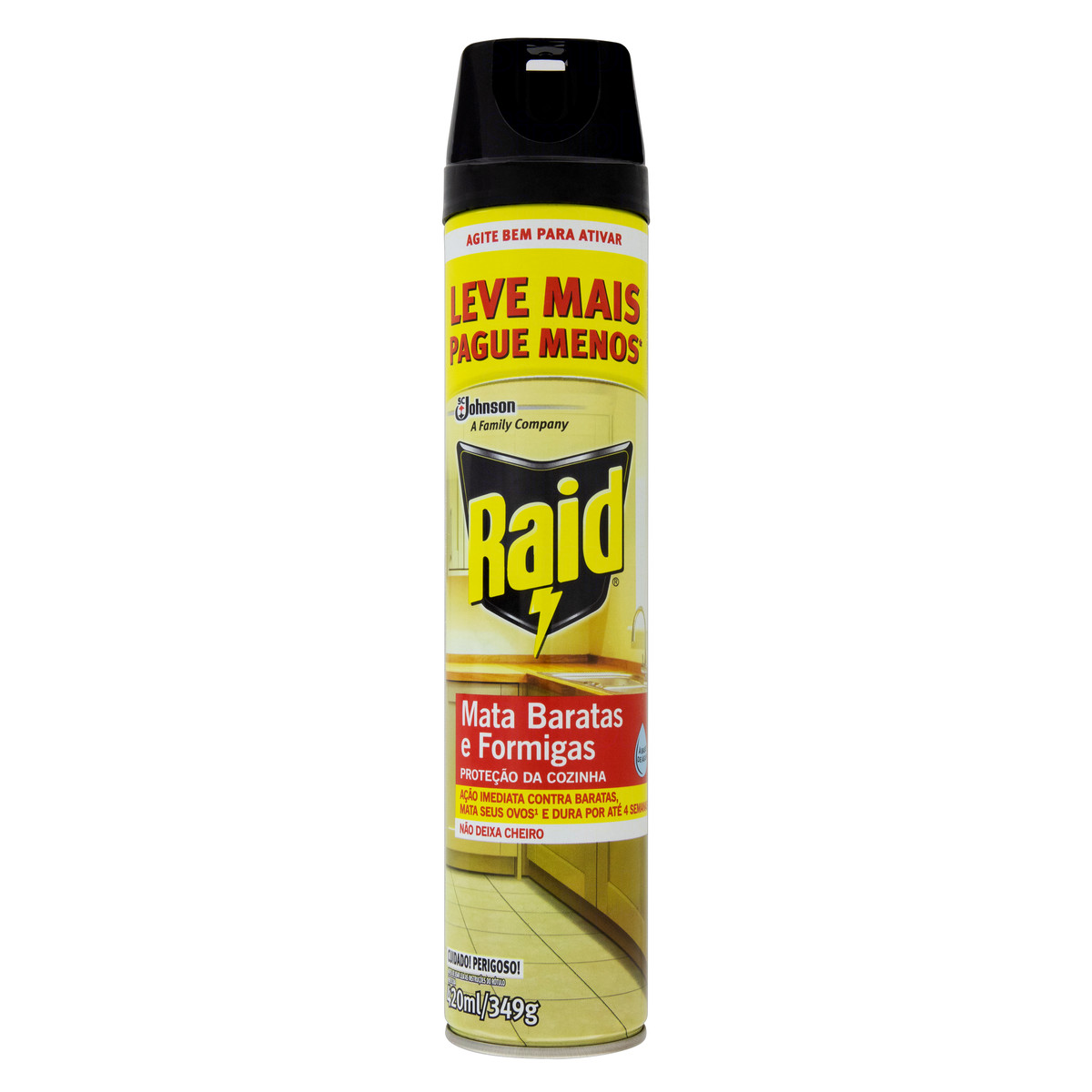 Inseticida Raid Aerossol Mata Baratas e Formigas Oferta