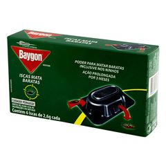 Inseticida Baygon Iscas Mata Baratas 2,6g