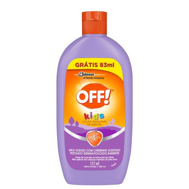 Repelente Off! Kids Loção L200ML P 117ML